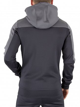 Kings Will Dream Dark Grey/Light Grey Merton Logo Zip Hoodie