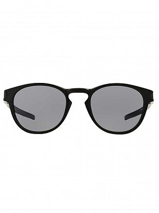 Oakley Matte Black/Grey Latch Sunglasses