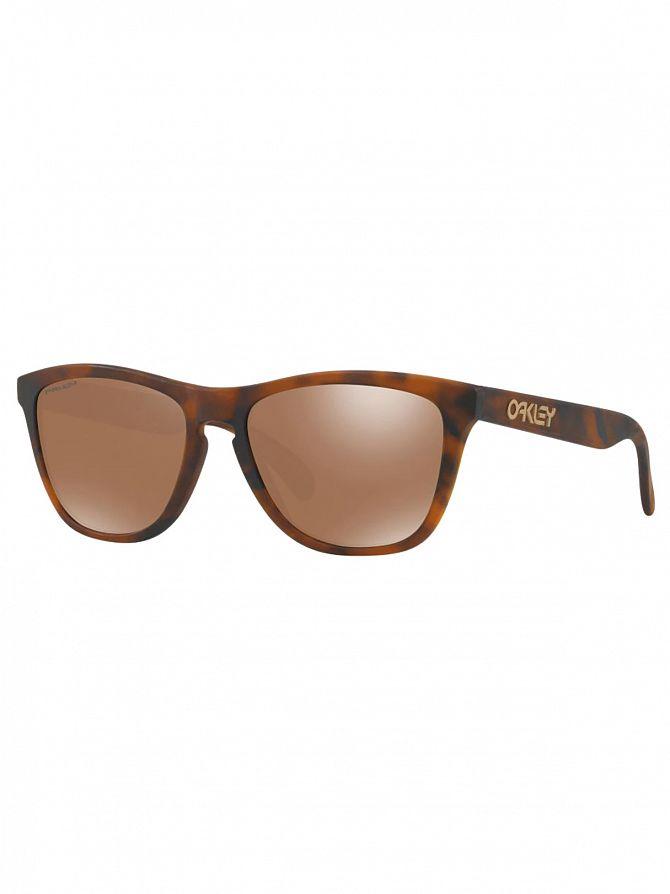 Oakley Matte Tortoise/Prizm Tungsten Frogskins Sunglasses