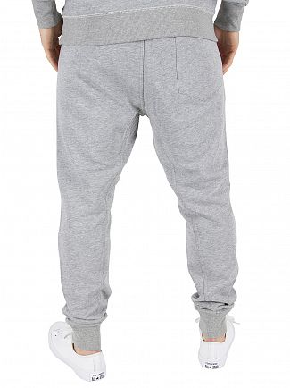 G-Star Grey Heather Core 3D Tapered Fit Logo Joggers