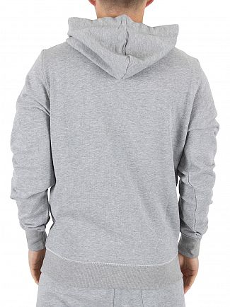 G-Star Grey Heather Core Logo Hoodie
