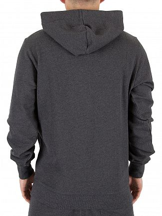 G-Star Black Heather Core Logo Hoodie