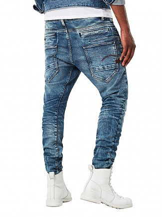 G-Star Medium Aged D-Staq 3D Super Slim Jeans