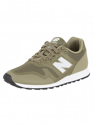 New Balance Green 373 Trainers