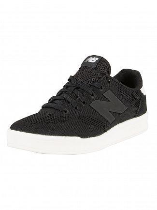 New Balance Black/White 300 Trainers