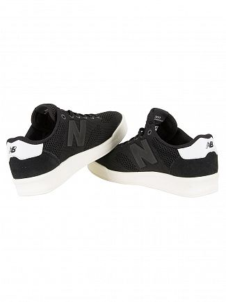 New Balance Black/White 300 Trainers