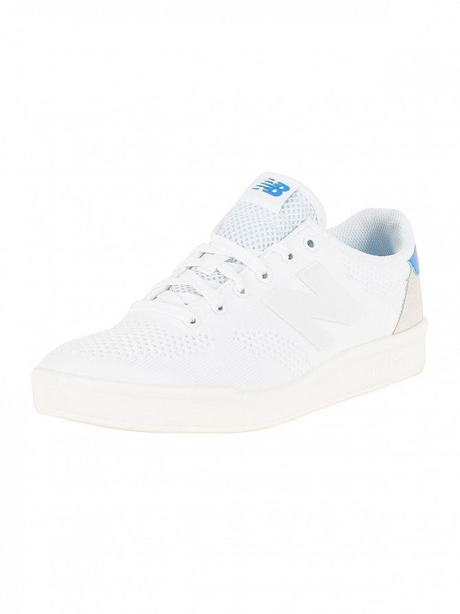 New Balance White/Cream 300 Trainers