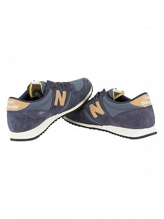 New Balance Blue/Brown 420 Trainers