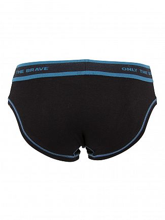 Diesel Black/Navy Fresh & Bright Hero Jack Briefs