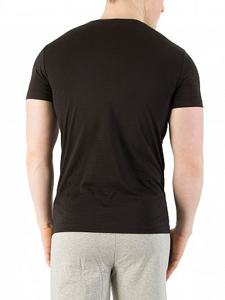 Diesel Black Randal Logo Crew Neck T-Shirt