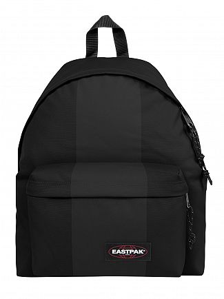 Eastpak Black Rubber Padded Pak R Backpack
