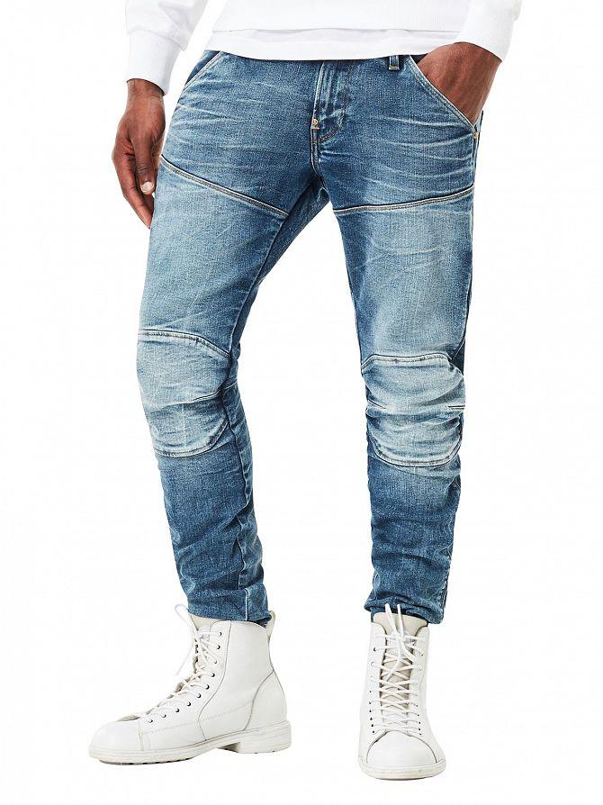 G-Star Medium Aged 5620 3D Super Slim Jeans