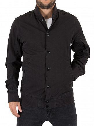 G-Star Dark Black Batt Sports Bomber Jacket