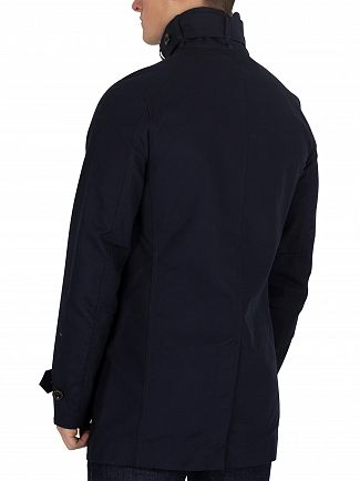G-Star Mazarine Blue Garber Trench Coat