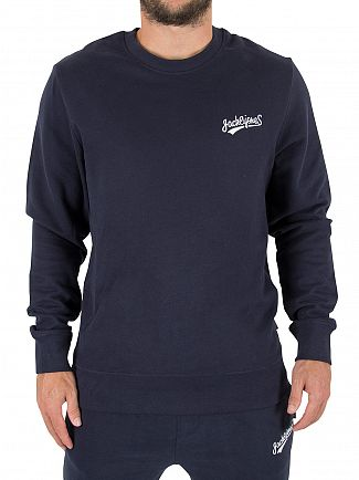 Jack & Jones Total Eclipse Original Mills Logo Sweatshirt