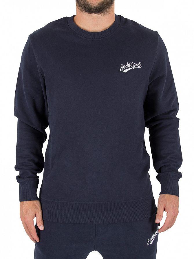 Jack & Jones Total Eclipse Original Mills Logo Sweatshirt