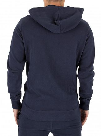 Jack & Jones Total Eclipse Original Mills Logo Zip Hoodie