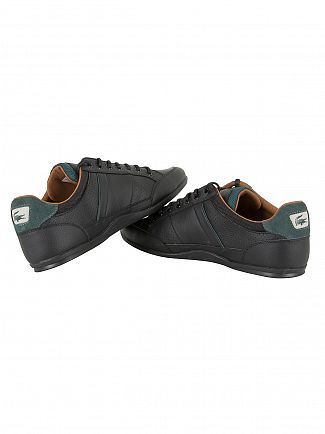 Lacoste Black/Tan Chaymon 317 1 CAM Trainers