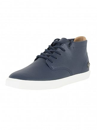 Lacoste Navy Leather Espere Chukka 317 Trainers