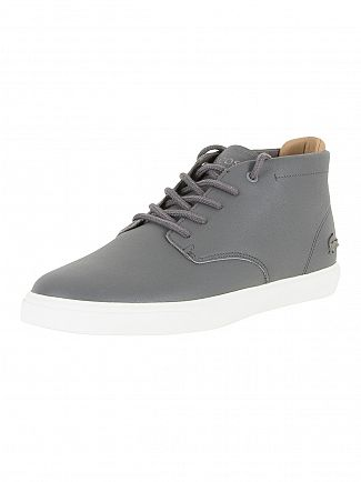 Lacoste Grey Leather Espere Chukka 317 Trainers