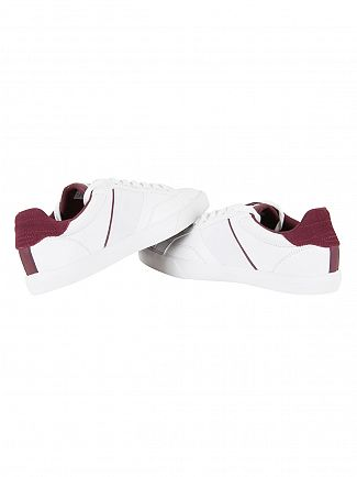 Lacoste White Fairlead 317 2 Cam Trainers