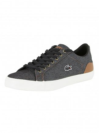 Lacoste Black/Brown Lerond 317 2 Cam Trainers