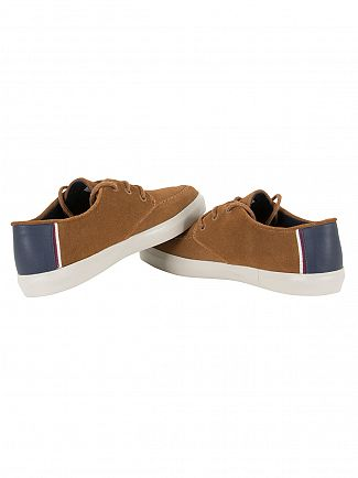 Lacoste Brown Sevrin 317 Cam Trainers