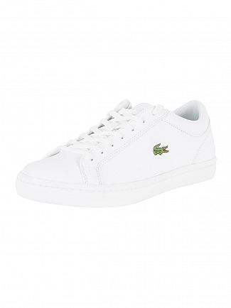 Lacoste White Straightset BL 1 Trainers