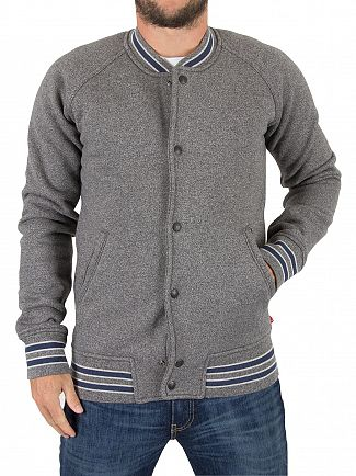 Levi's Owl Grey Fleece Bomber