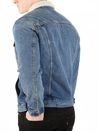 Levi's Needle Park Type 3 Sherpa Trucker Jacket