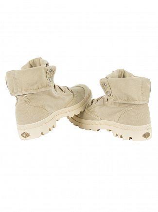 Palladium Sahara/Ecru Pallabrouse Baggy Boots