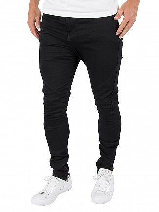 Religion Jet Black Blade Slim Fit Jeans