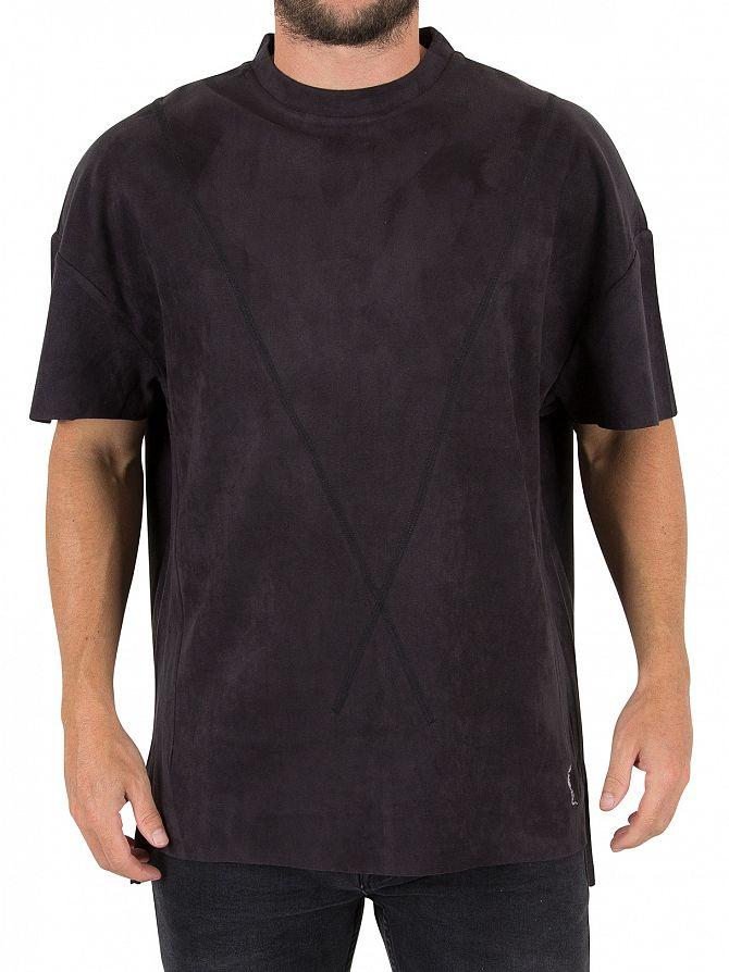 Religion Steel Captive Suedette T-Shirt