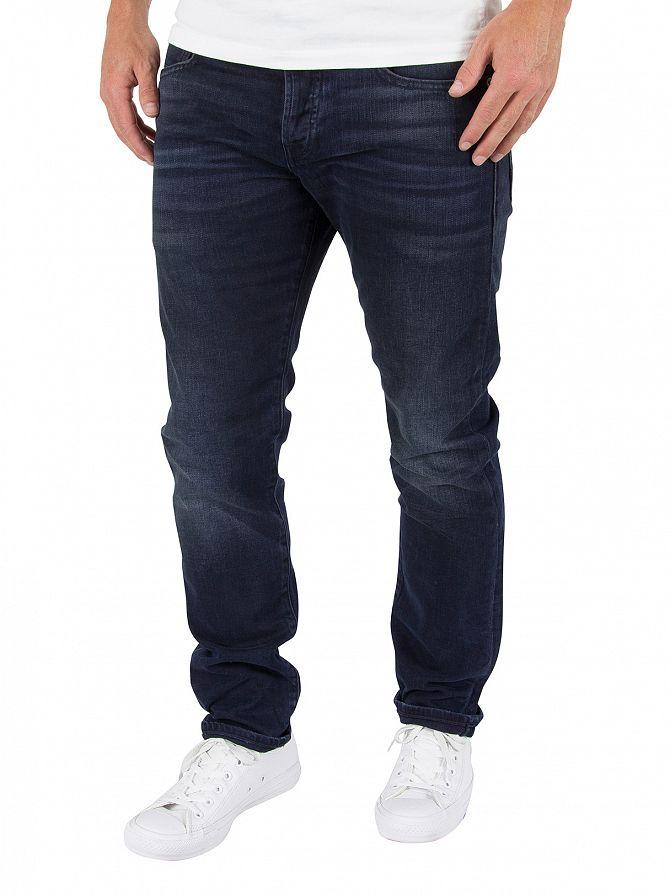 Scotch & Soda Black/Blue Ralston Regular Slim Fit Jeans