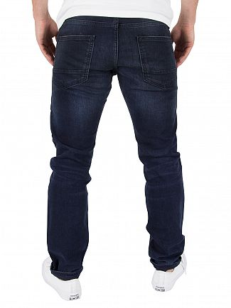 Scotch & Soda Black/Blue Ralston Regular Slim Fit Jeans