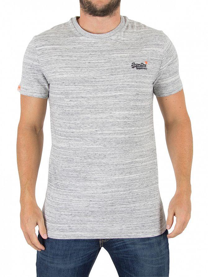 Superdry Pumice Grit Orange Label Vintage Logo T-Shirt