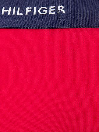 Tommy Hilfiger Bluejay/Blue/Red 3 Pack Cotton Stretch Logo Trunks
