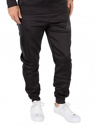 Kings Will Dream Black Carbony Poly Logo Joggers