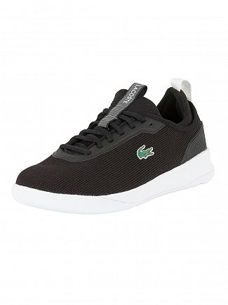 Lacoste Black/White LT Spirit 2.0 317 1 SPM Trainers