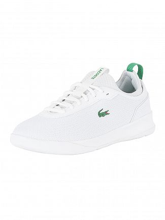 Lacoste White/Green LT Spirit 2.0 317 1 SPM Trainers