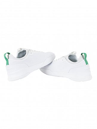 Lacoste White/Green LT Spirit 2.0 317 1 SPM Trainers