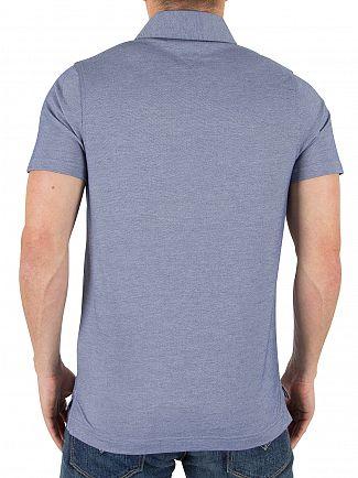 Tommy Hilfiger Light Indigo Ronan Twill Pocket Poloshirt