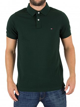 Tommy Hilfiger Scarab  Luxury Slim Fit Logo Poloshirt