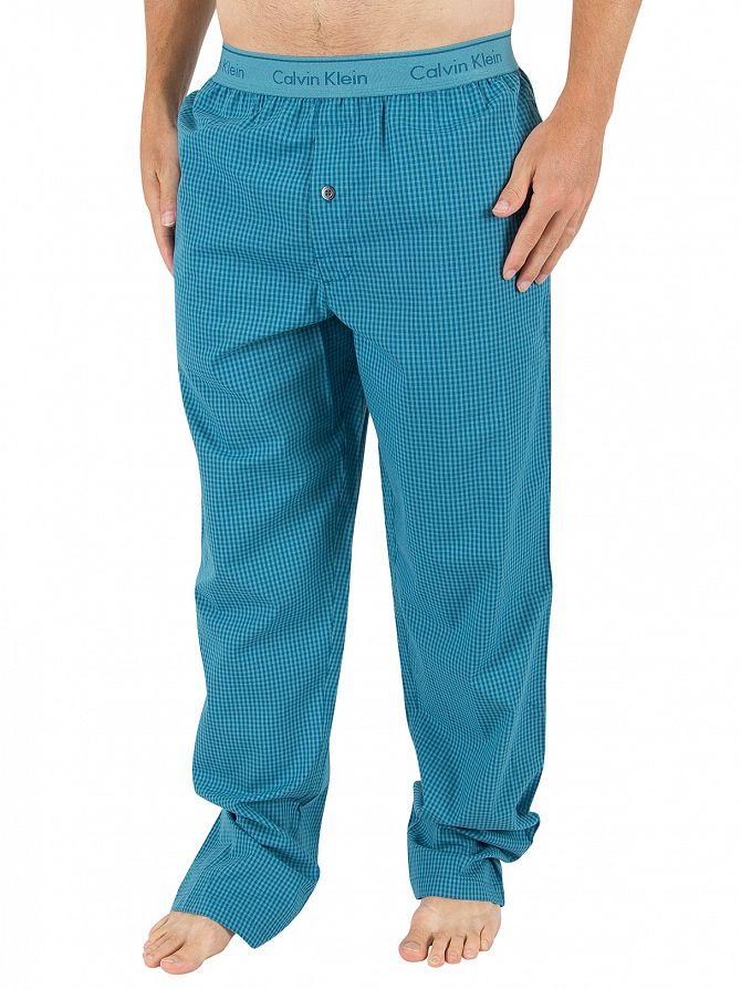 Calvin Klein Larkspur Martin Check Logo Pyjama Bottoms