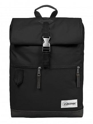 Eastpak Into Mono Black Macnee Logo Backpack