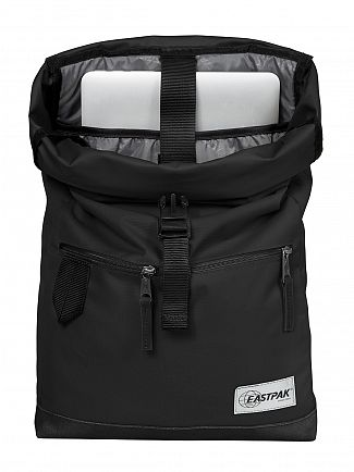 Eastpak Into Mono Black Macnee Logo Backpack