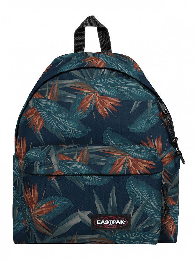 Eastpak Orange Brize Padded Pak'R Logo Backpack