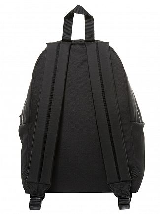 Eastpak Black Stitched Padded Pak'R Logo Backpack