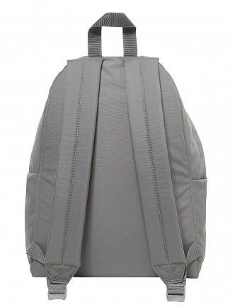 Eastpak Grey Stitched Padded Pak'R Logo Backpack