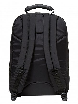 Eastpak Black Stitched Provider Logo Backpack